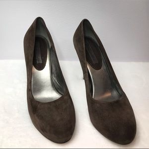 Banana Republic - Brown Suede Leather Pumps